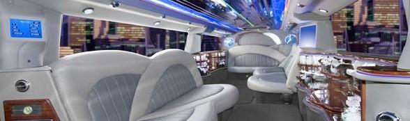 Orlando Premier Limo Service - Escalade SUV Limousine Inside
